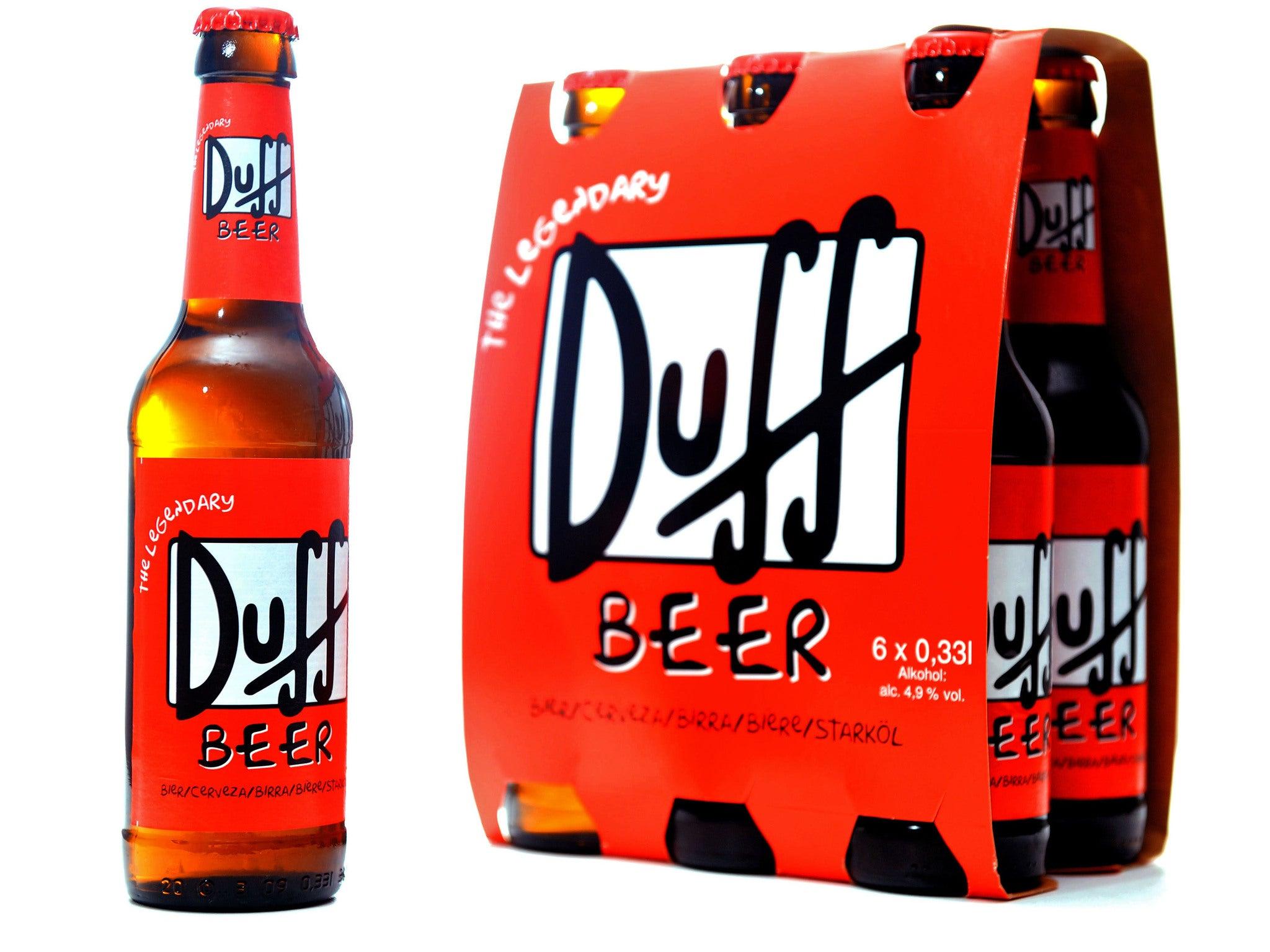 be like homer simpsons duff beer goes on sale this week