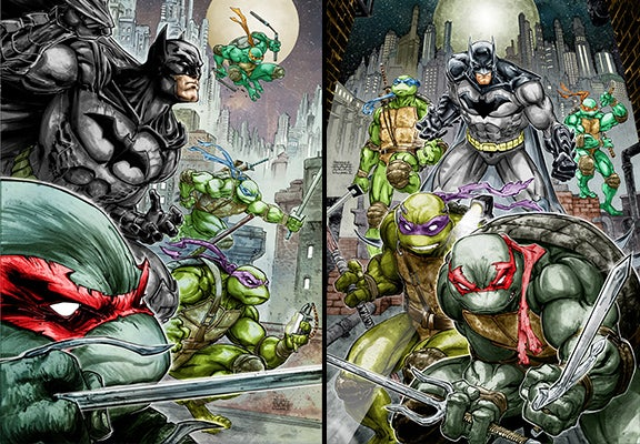 Batman To Join Forces With Teenage Mutant Ninja Turtles In