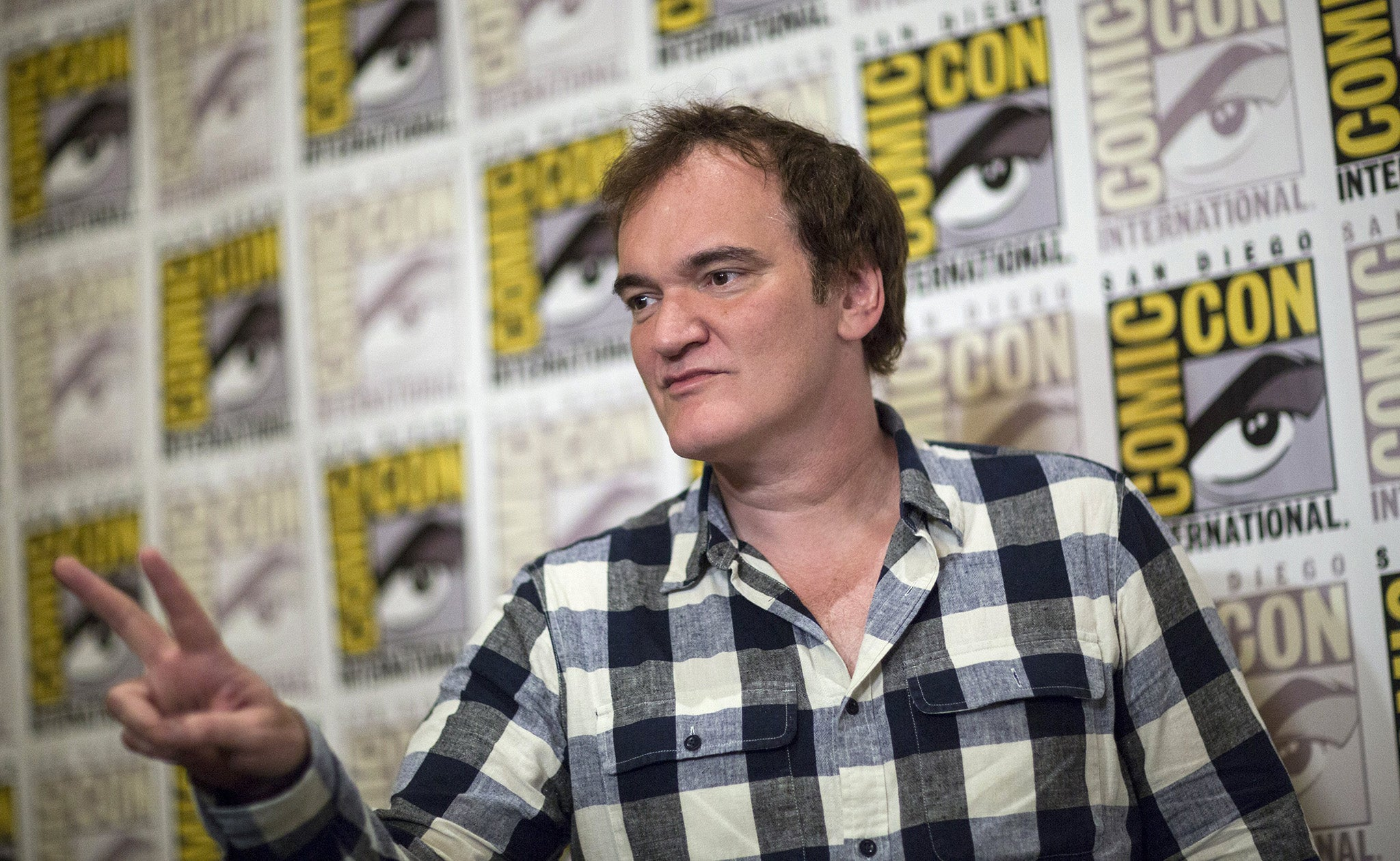 Comic Con 2015: Quentin Tarantino signals move into television with plans for 'three miniseries'