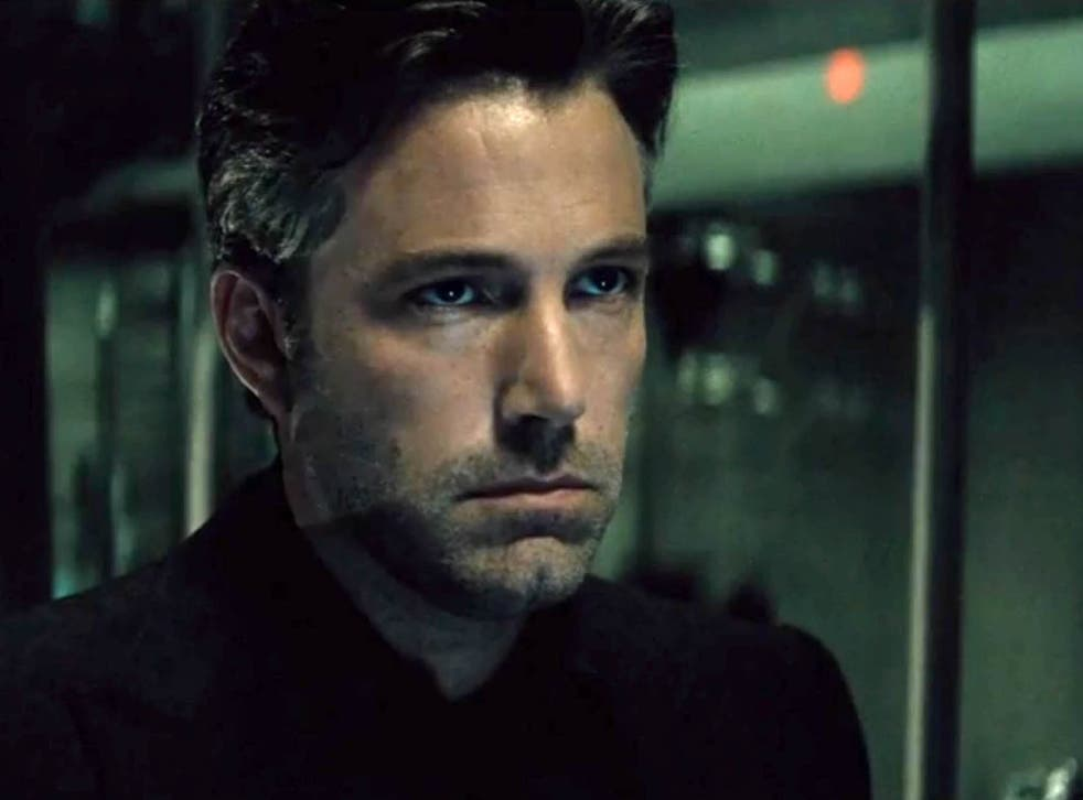 Ben Affleck, who plays Batman, in a still from the trailer of Batman v Superman: Dawn of Justice
