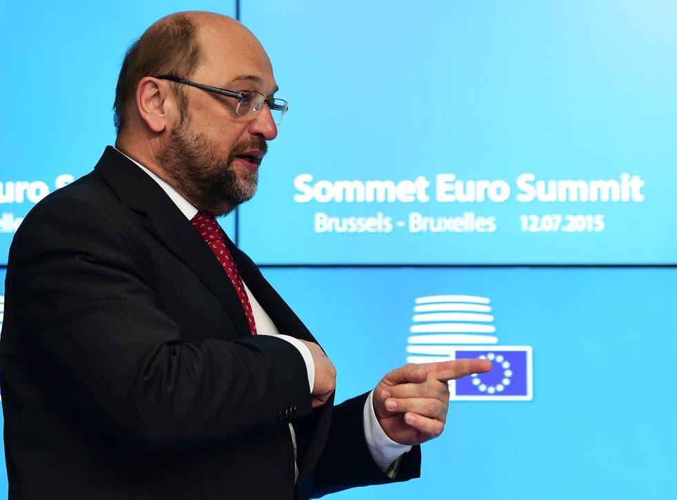 European Parliament Martin Schulz says Europe is a democracy