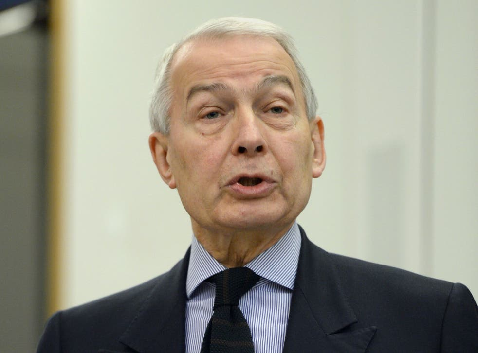 Frank Field, Chair of the Work and Pensions Select Committee