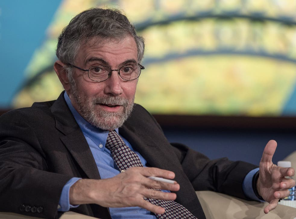 Krugman predicted that the stock market would crash on a Trump victory