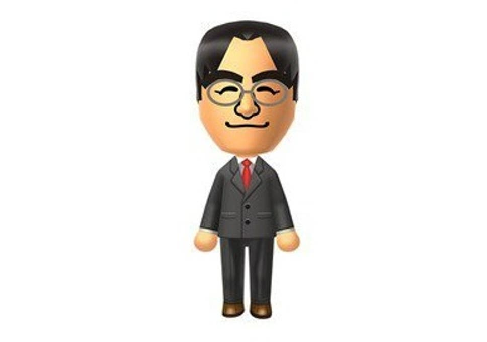satoru iwata dead nintendo president changed his mii to reflect his