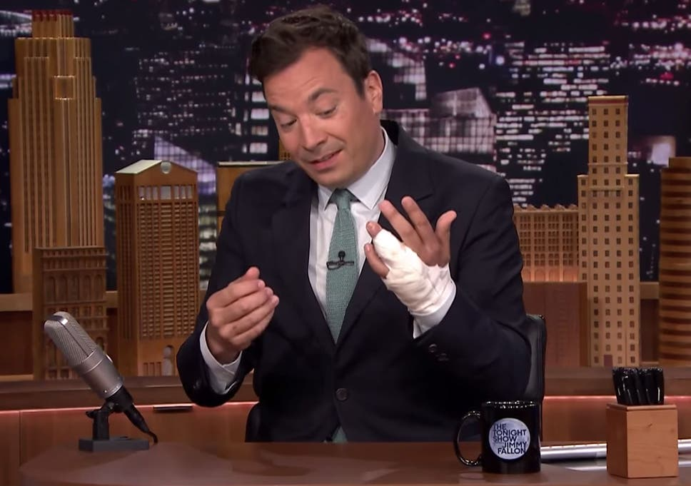 Jimmy Fallon Almost Needed His Finger Amputated After He