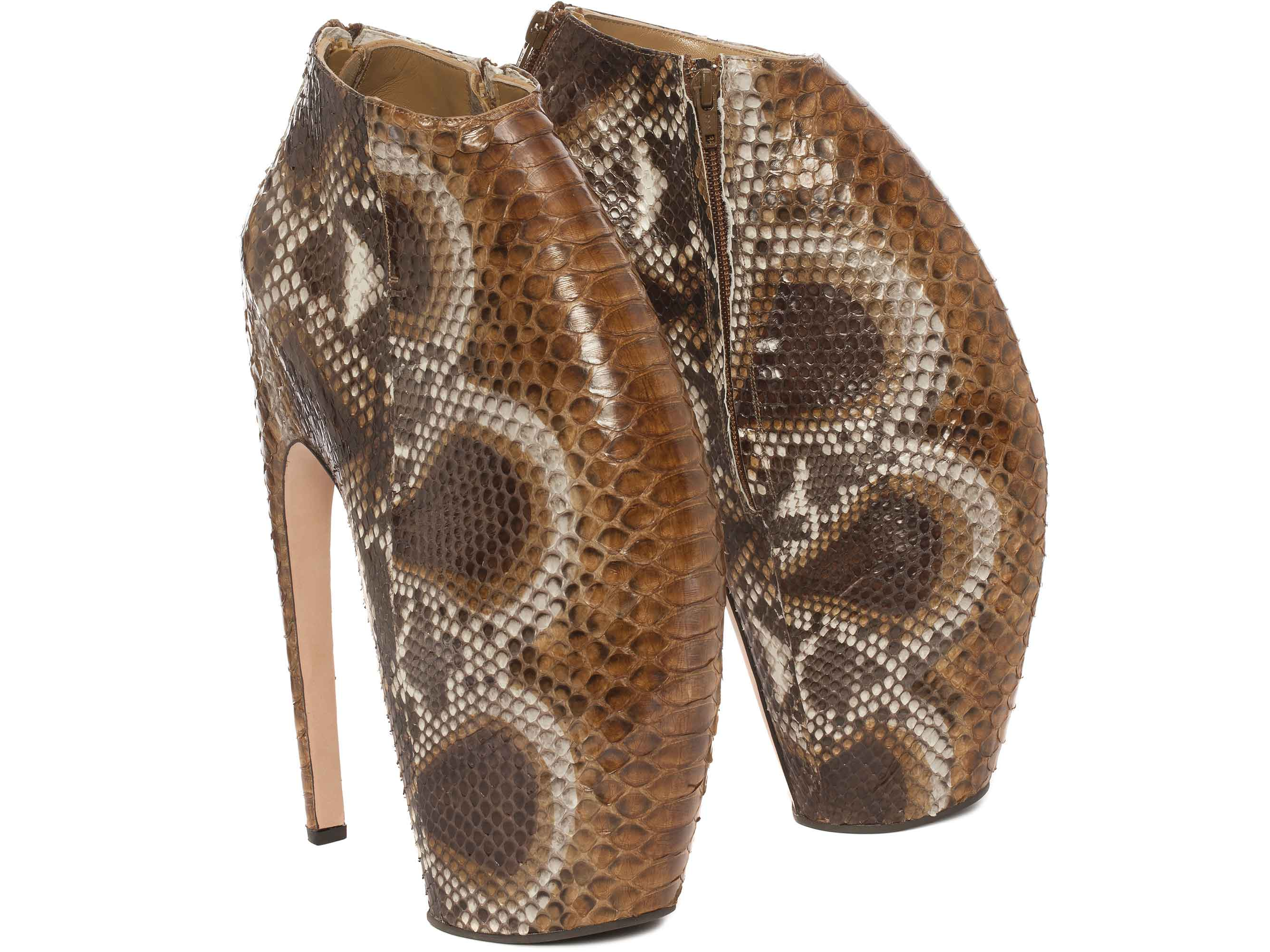 7734bab59885 Alexander McQueen s iconic Armadillo Boots to be auctioned for ...