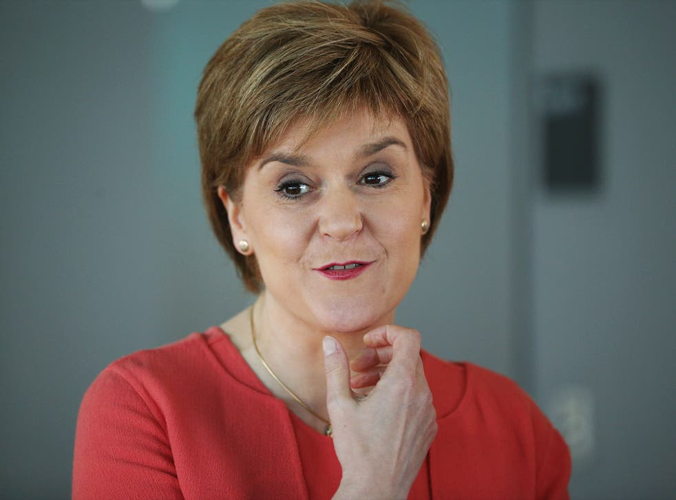 Nicola Sturgeon said Scottish MPs had been shown a lack of 'respect' in Westminster