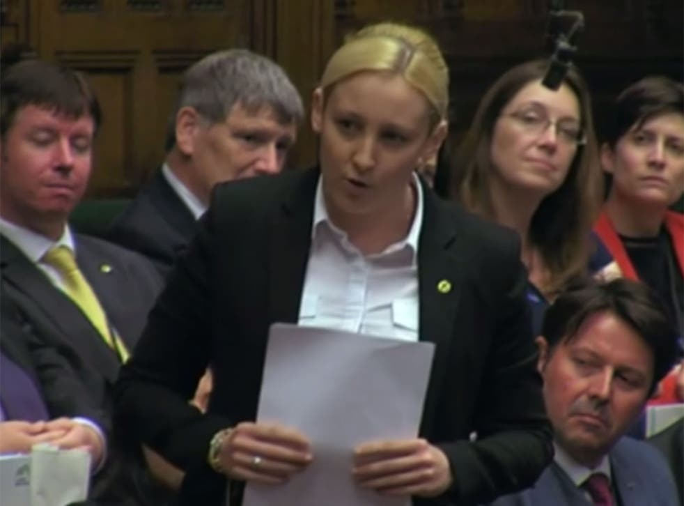 Mhairi Black delivers her maiden speech to the House of Commons