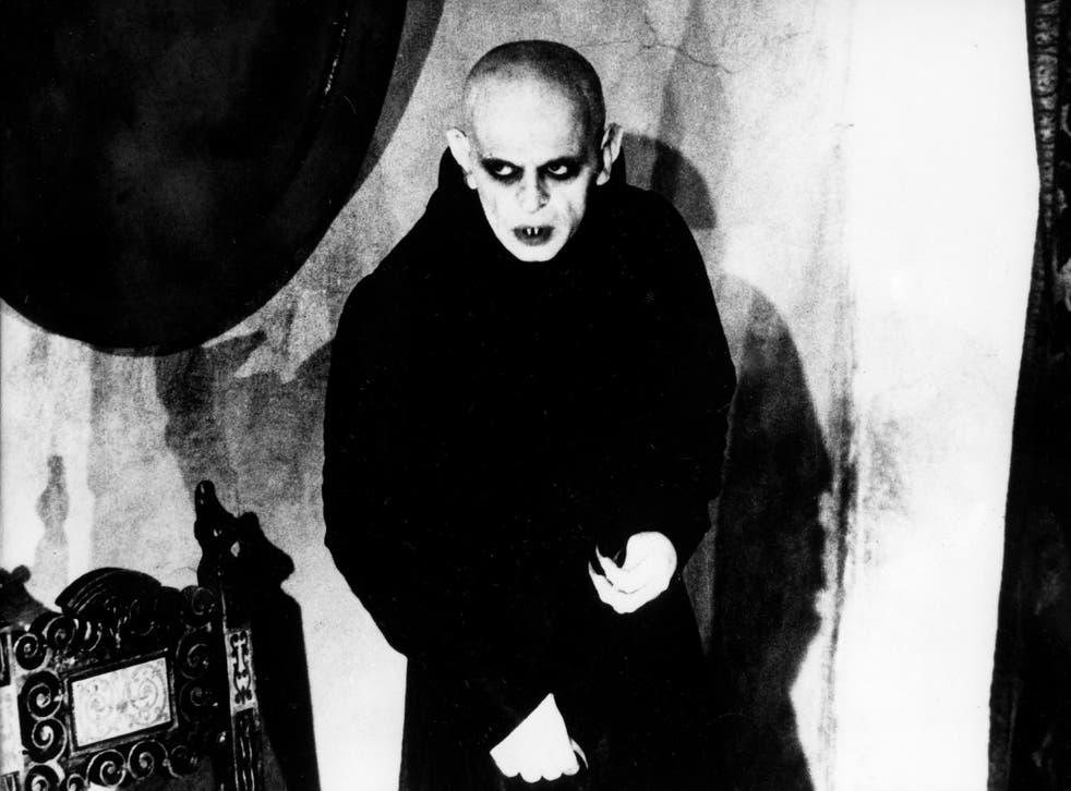 Max Schreck as the vampire Count Orlok in Murnau's 1922 horror classic Nosferatu