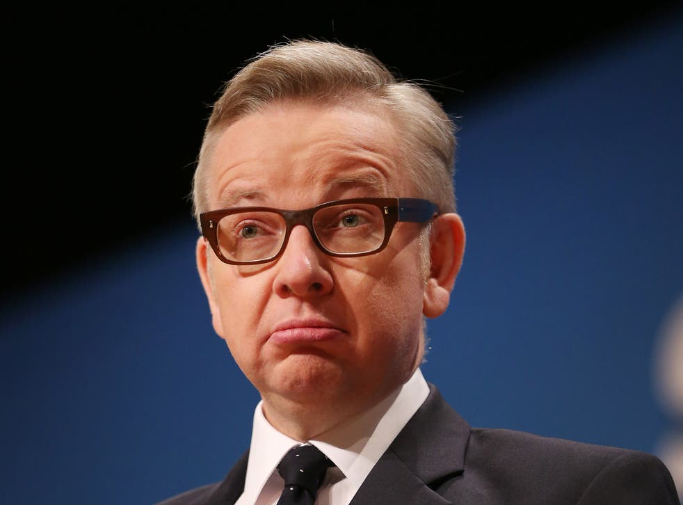 Michael Gove, Minister of Justice