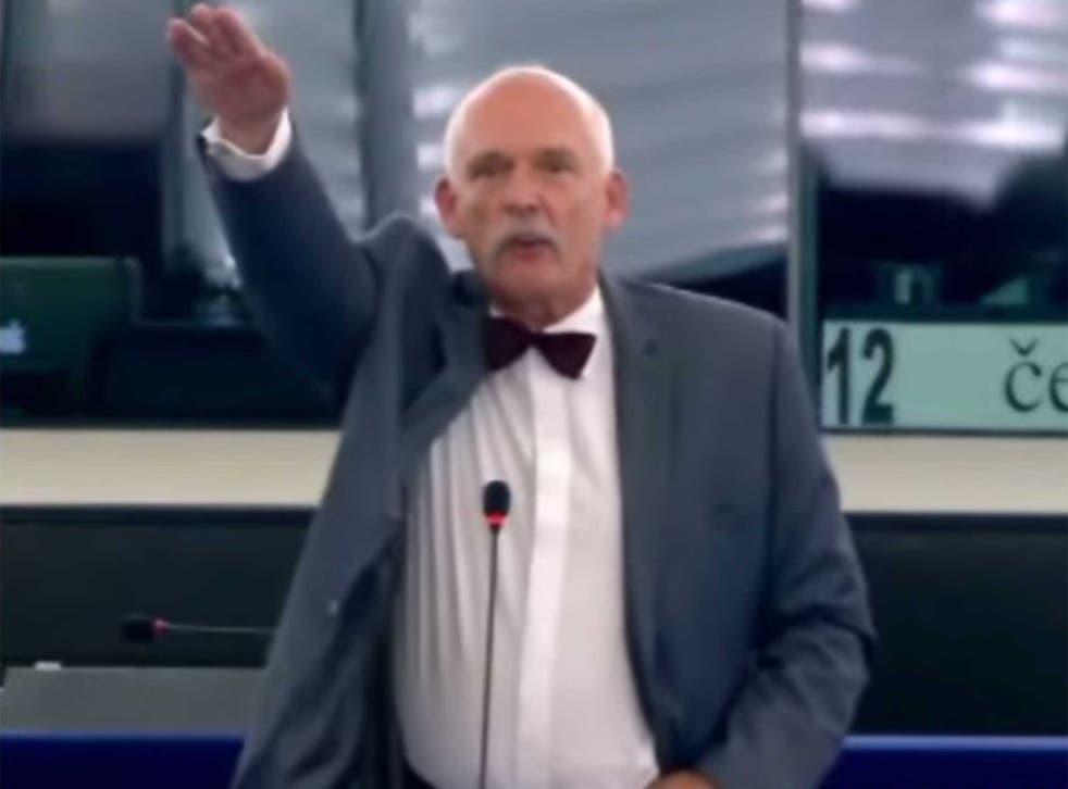 Janusz Korwin-Mikke does not like the EU