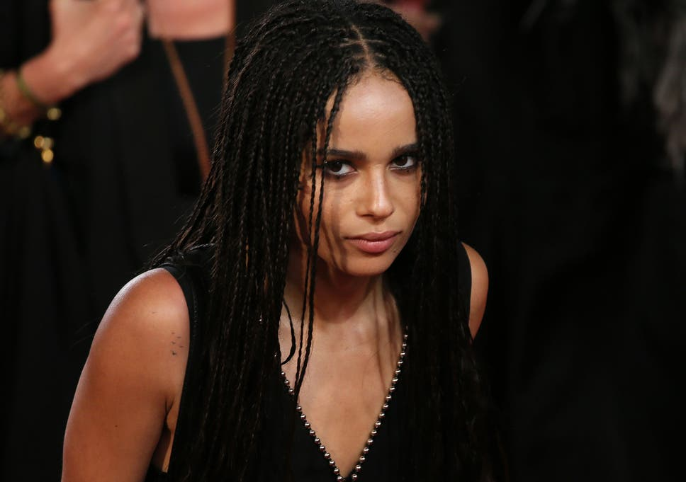 74af3b96d Zoe Kravitz rejected from The Dark Knight Rises because the film was not   going urban