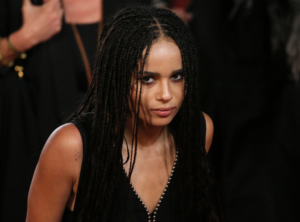 Zoe Kravitz was rejected from The Dark Knight Rises for being too 'urban'