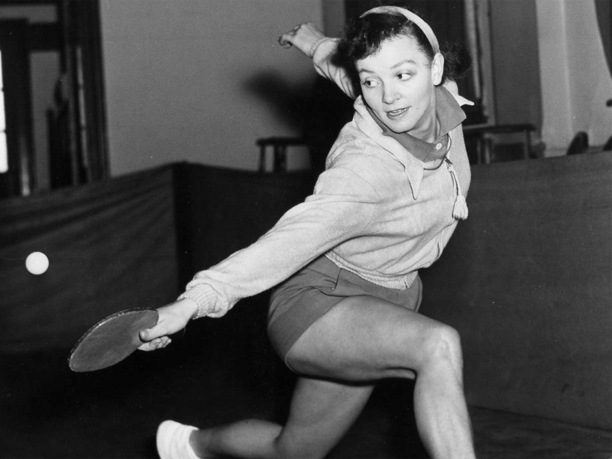 Rosalind Rowe Table tennis player who became a multiple world