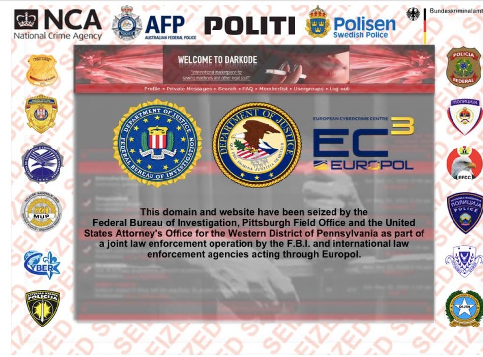 The Darkode site was shut down by federal investigators