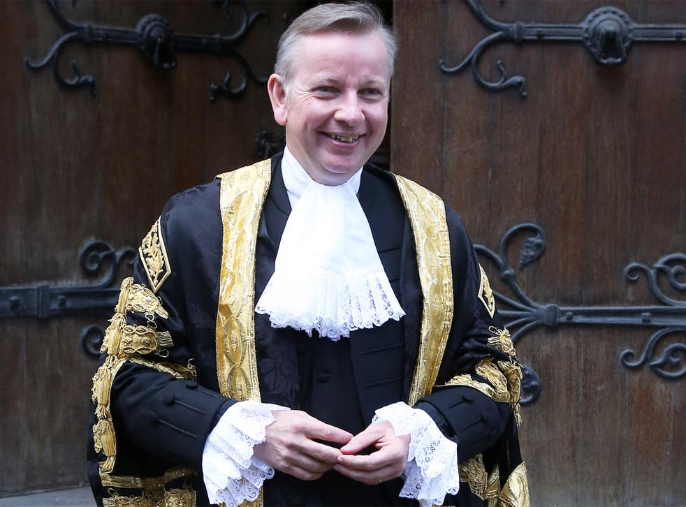 Michael Gove is 'disappointed' that The Criminal Bar Association has voted for industrial action