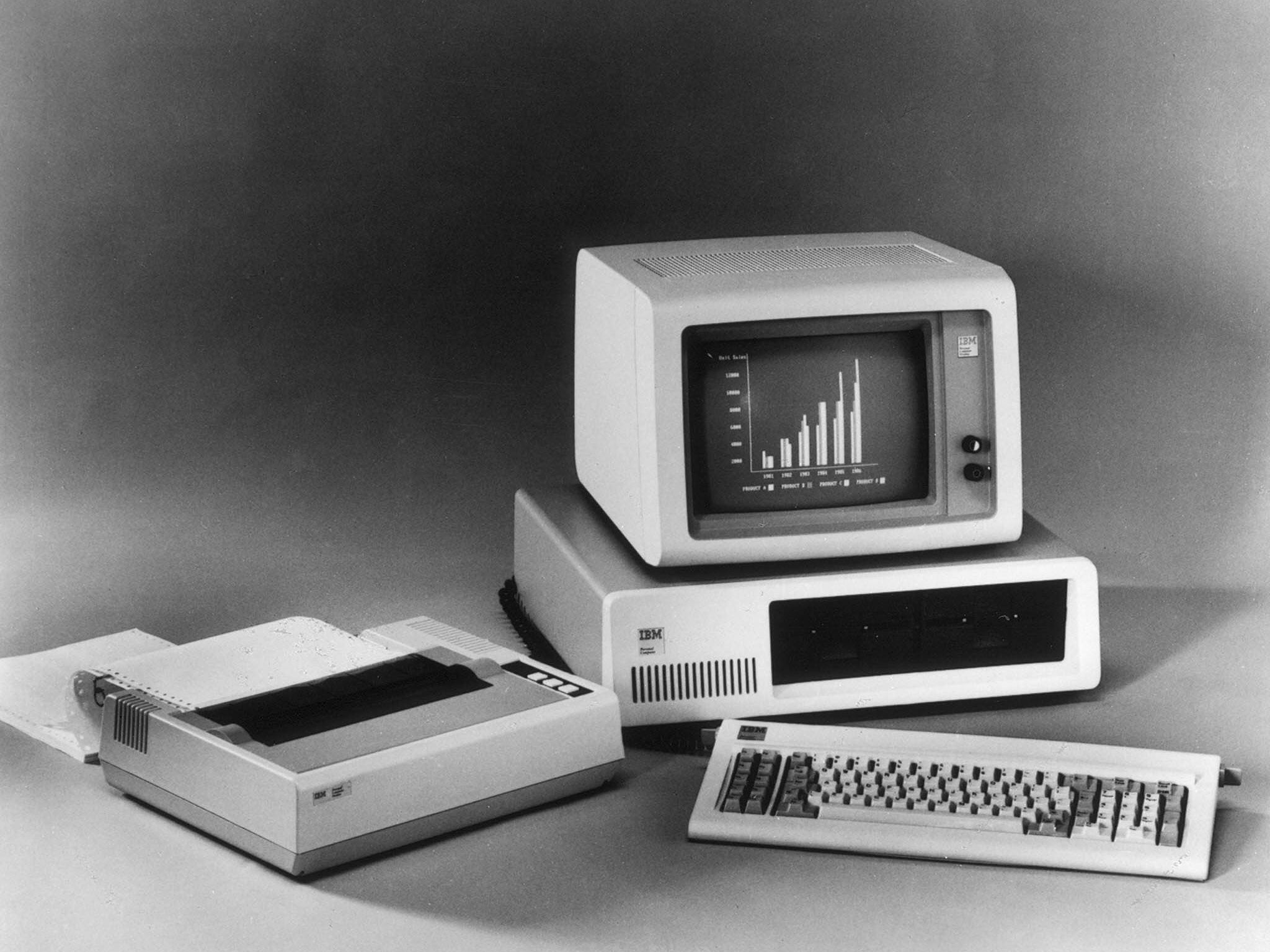 The End Of Moores Law Why Theory That Computer Processors Will Typical Circuit Board Found In All Electronic Products Today 1 Ibm Pc 1981 Ibms First Proper Effort At Home Computing Was So Successful It Popularised Term Could Be Connected To Users Tv