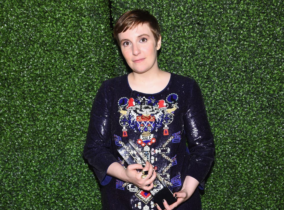Dunham says she has received abuse online