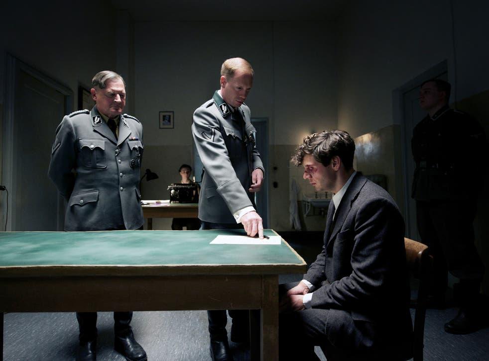 Burghart Klaussner, Johann von Bülow and Christian Friedel in '13 Minutes'
