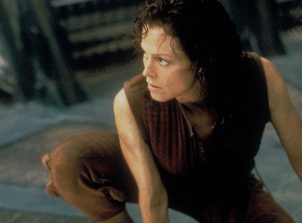 Sigourney Weaver as Ellen Ripley in Alien: Resurrection