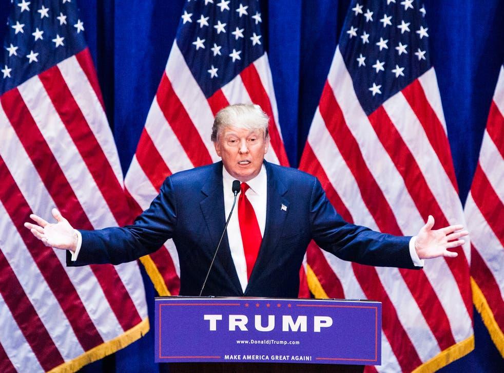 Donald Trump described a border wall as 'not even a difficult project'