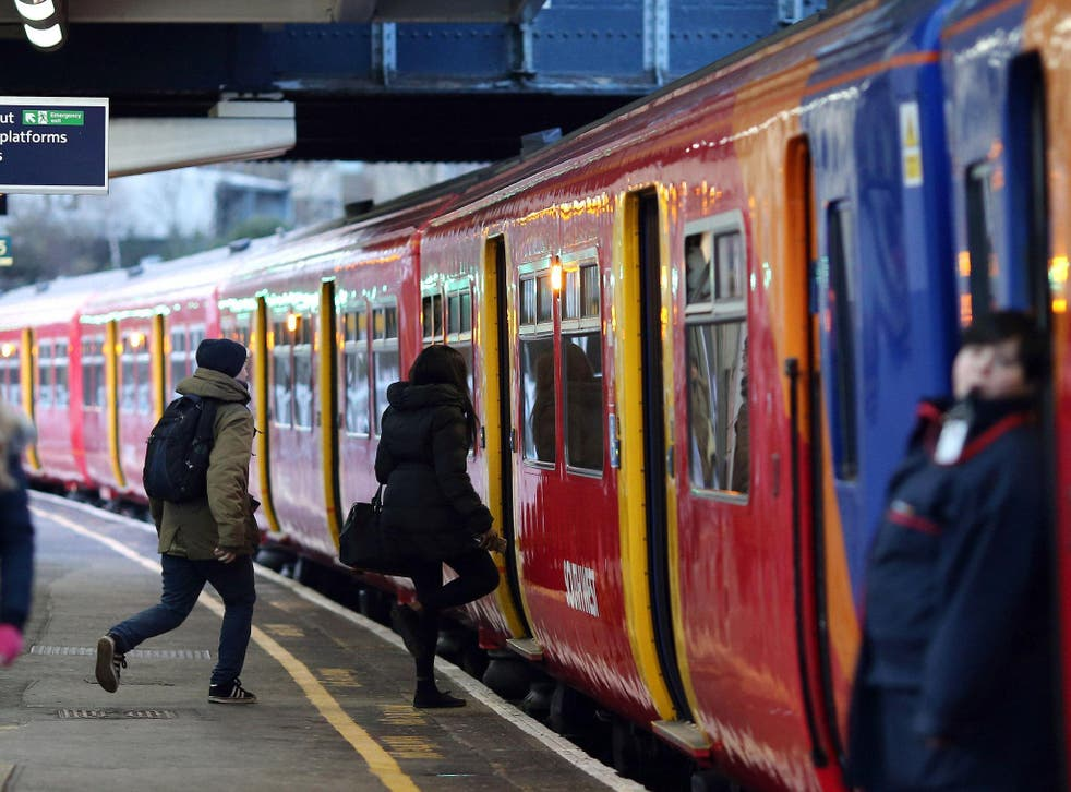 Annual rail fare increases are implemented today