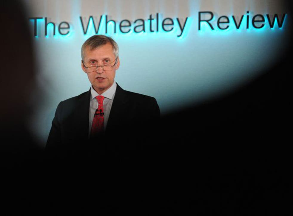 Former FCA chief Martin Wheatley was seen as too tough on banks and failed to get his contract renewed