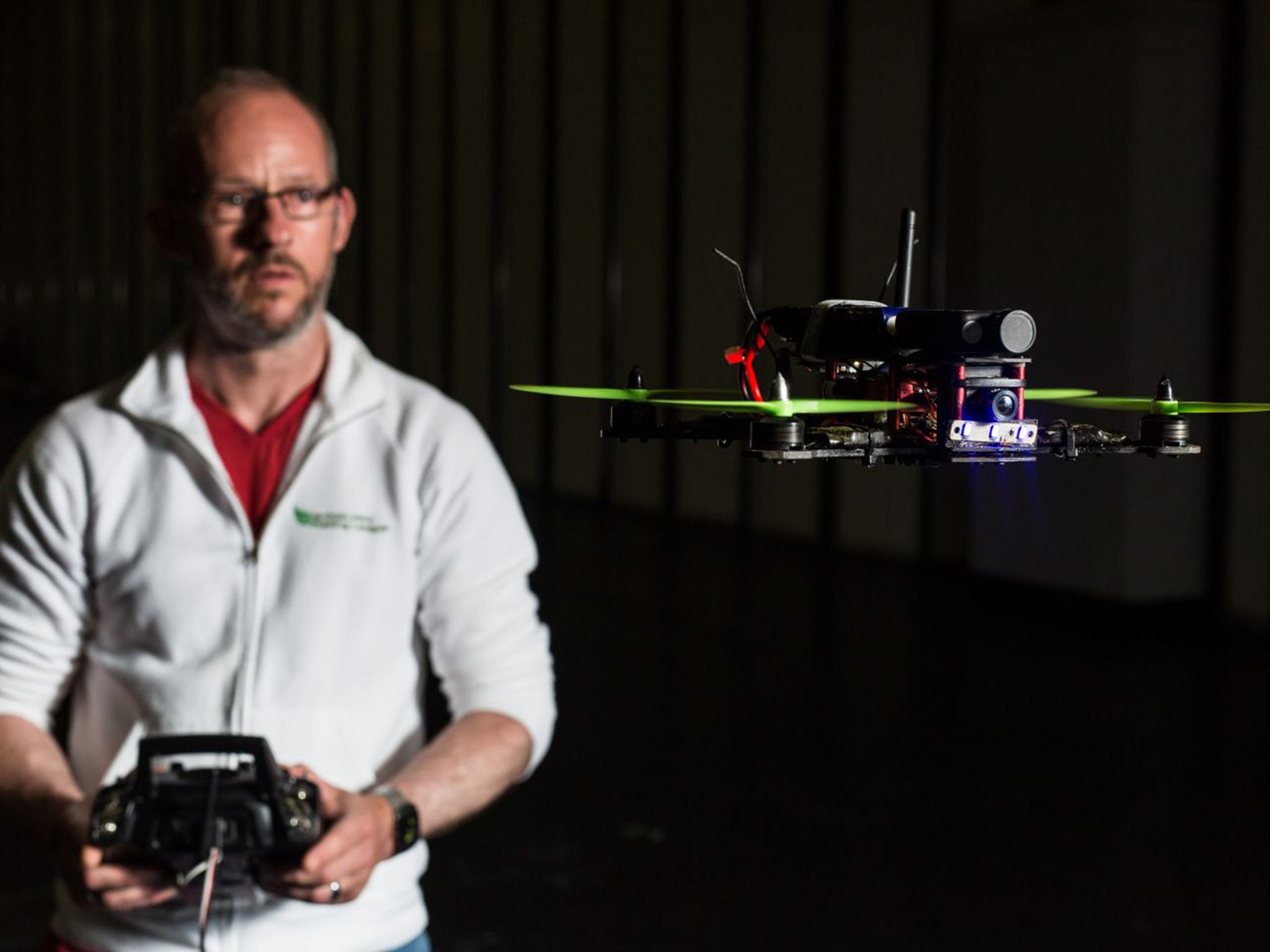 Drone racing: Teenagers are being lured away from screens and outside to fly their aircraft against each other