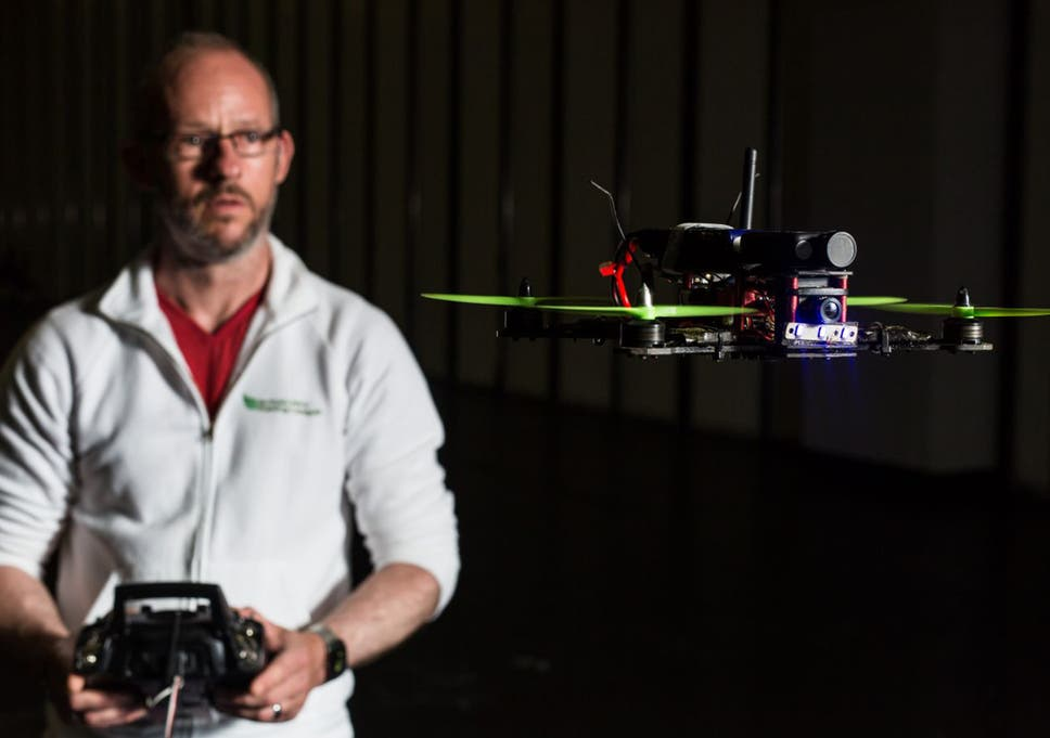 Drone racing: Teenagers are being lured away from screens