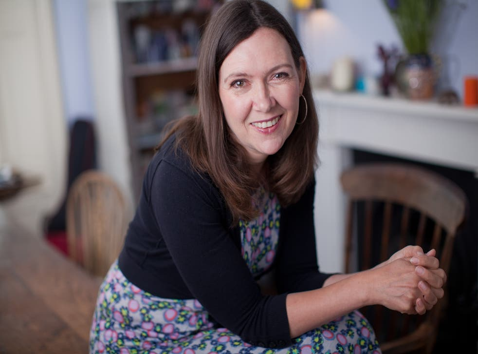 Author, Joanna Briscoe, pictured at her home in Kentish Town