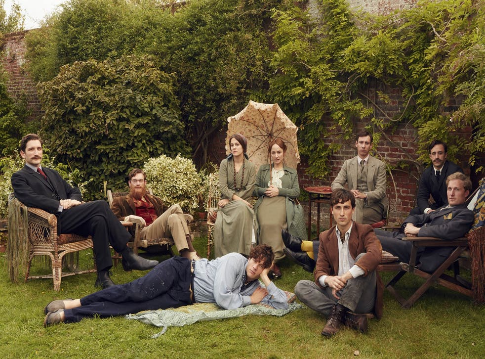 Off the wall: the cast of 'Life in Squares'