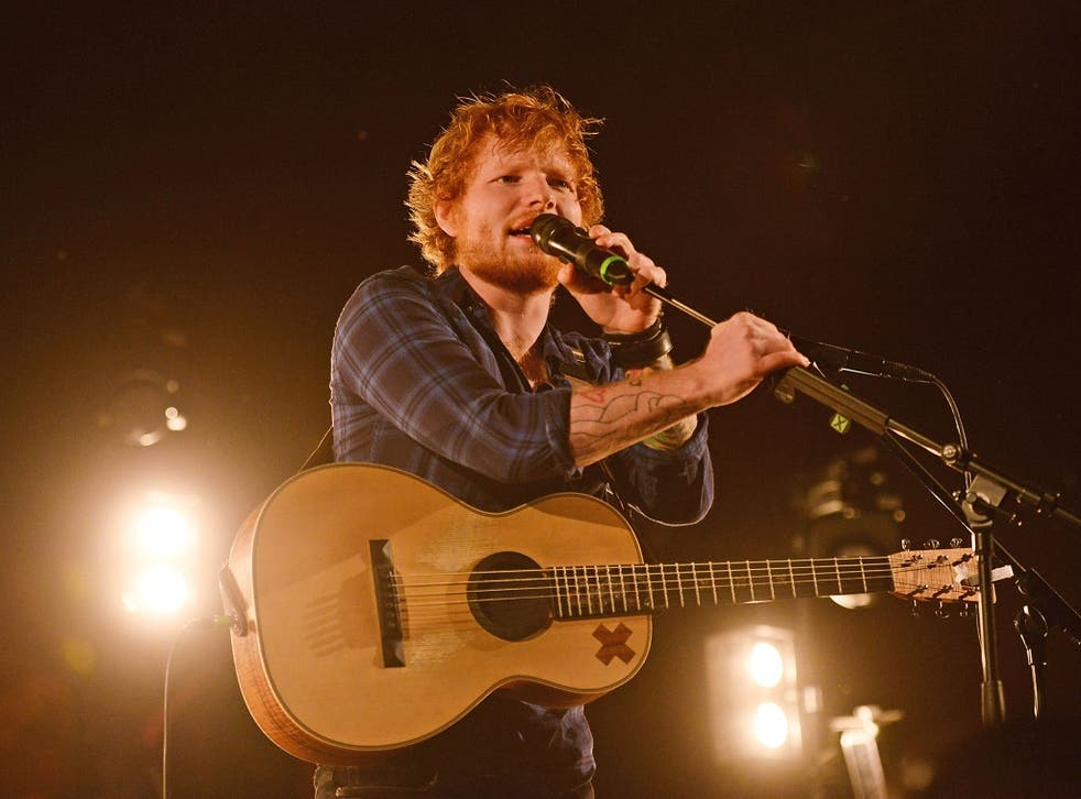 Ed Sheeran entertained the crowds at Latitude Festival