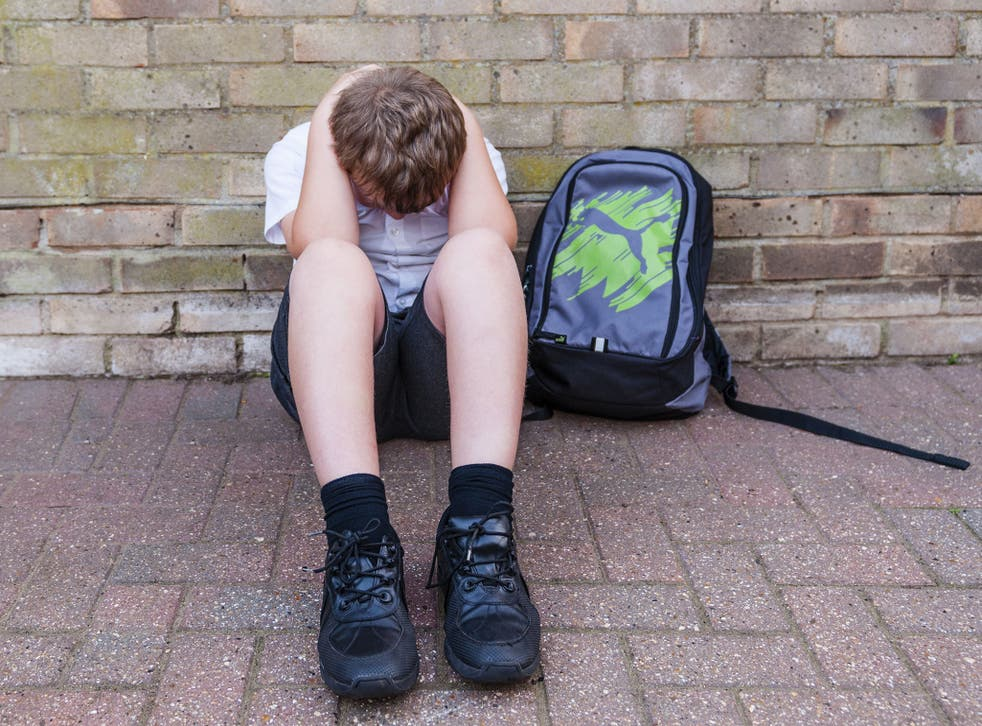 Children's charity NSPCC says children as young as eight have contacted them to seek help for the condition