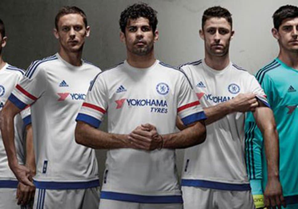 size 40 fe2ab 96af8 Chelsea 2015/16 away shirt: White adidas shirt revealed by ...