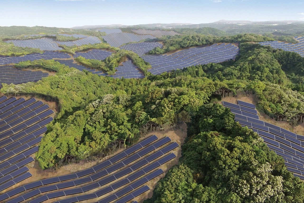 Japan is turning its abandoned golf courses into solar power plants