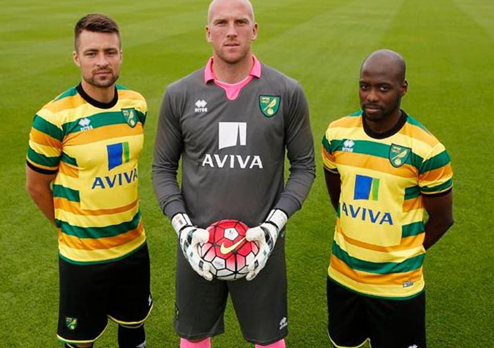 b6aeb30fe Norwich City mocked after revealing terrible new third kit - which ...