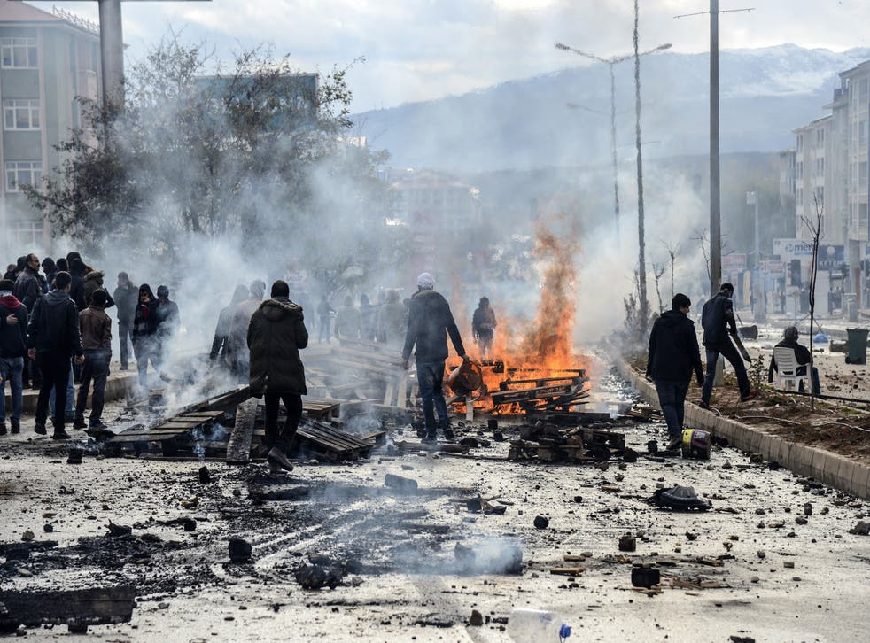 Unrest in Tunceli, after a demonstration by Kurdish protesters over the visit of a Turkish far-right nationalist leader to the city