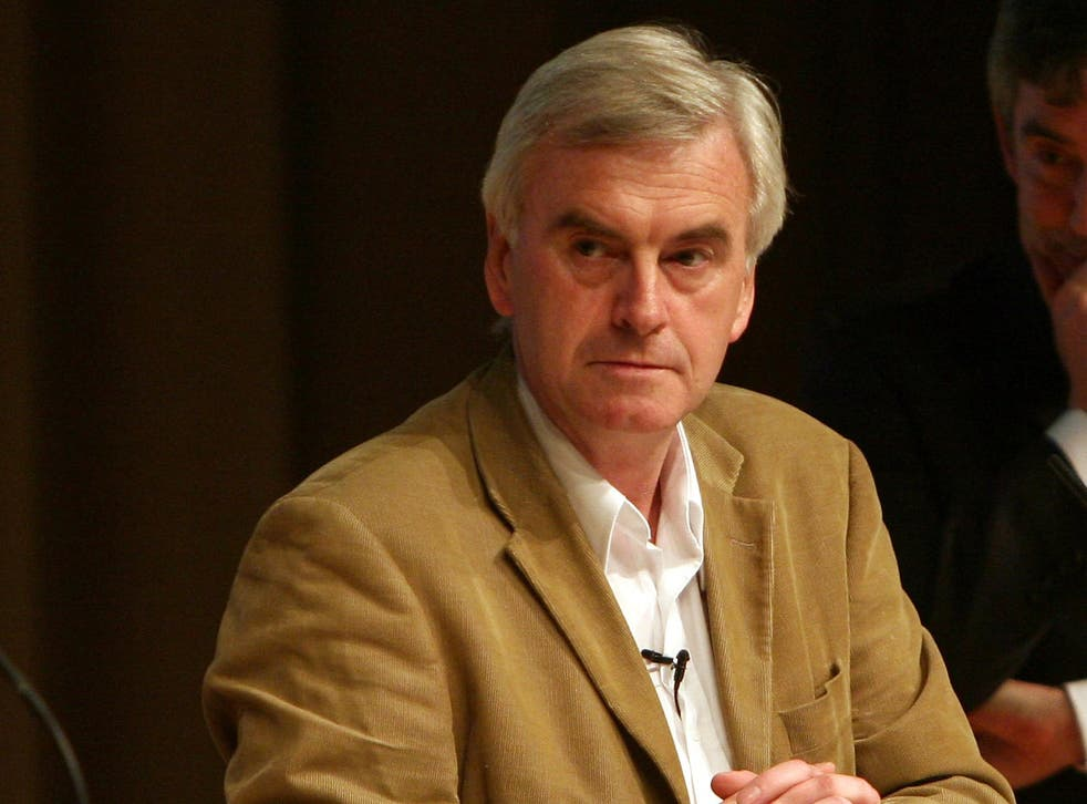 John McDonnell, the new shadow chancellor