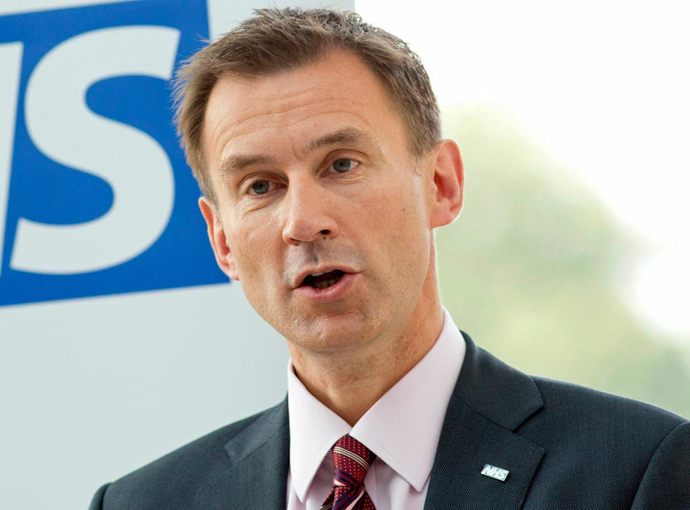 100,000 people want a vote of no confidence debate in Mr Hunt