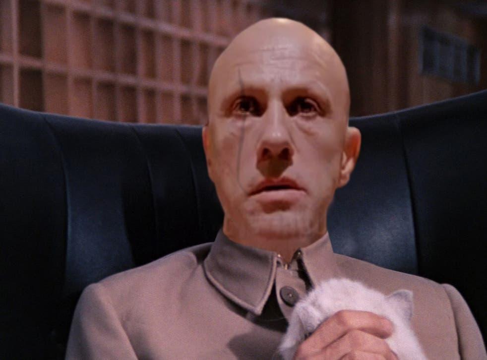 Christoph Waltz imagined as Ernst Blofeld by Followingthenerd.com