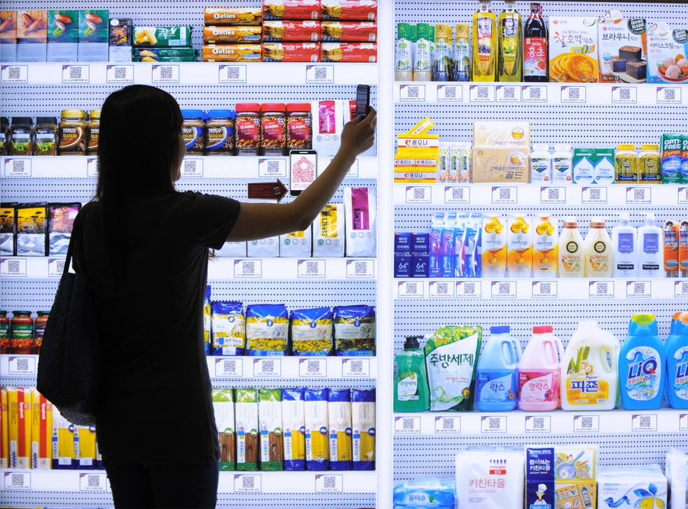 New apps are being designed so shoppers can see offers or check product information on their mobiles in store