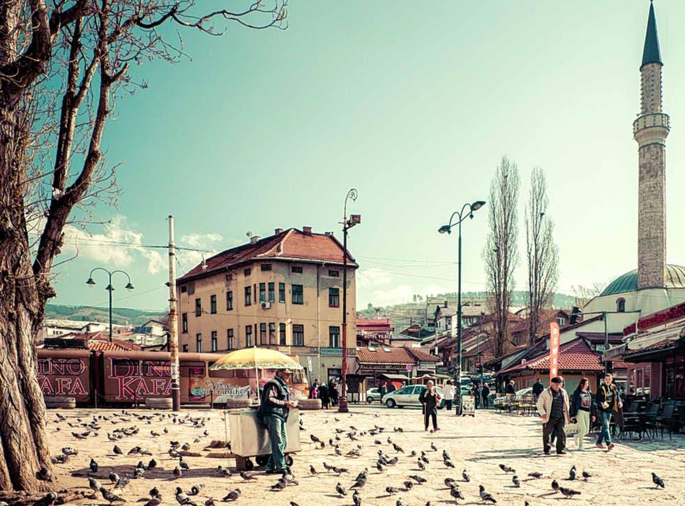 Pave the way: central Sarajevo