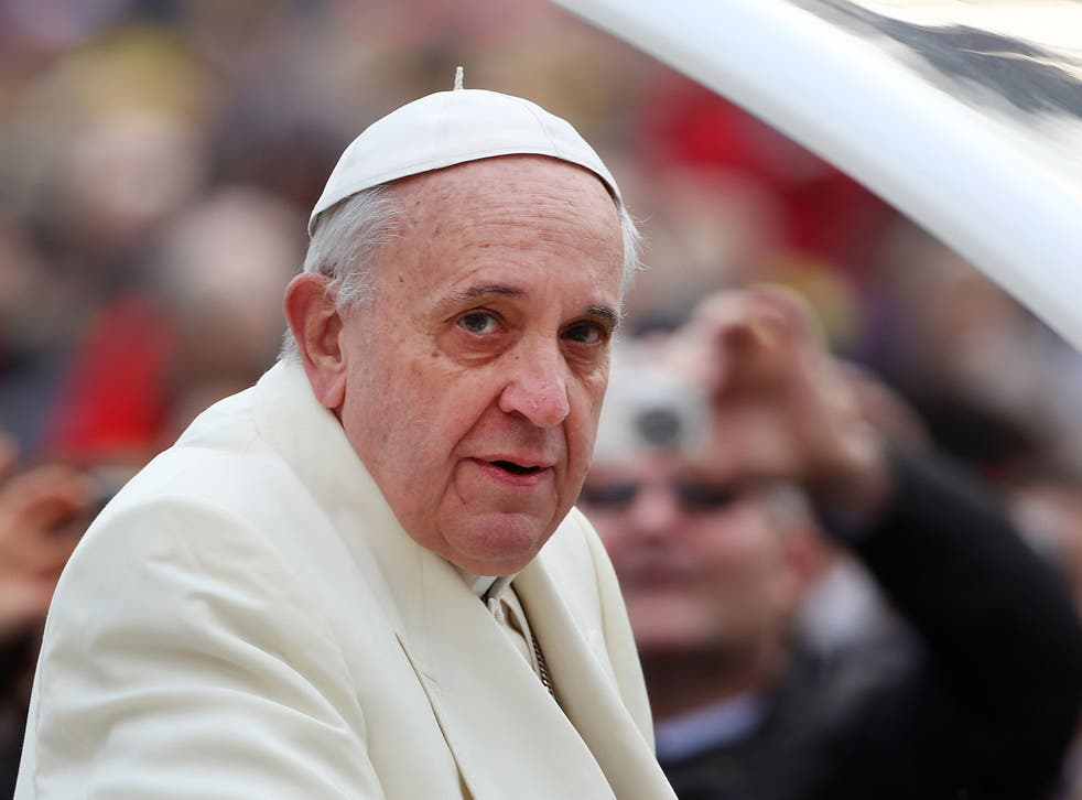 Pope Francis' approval ratings in the USA have plummeted in the last year