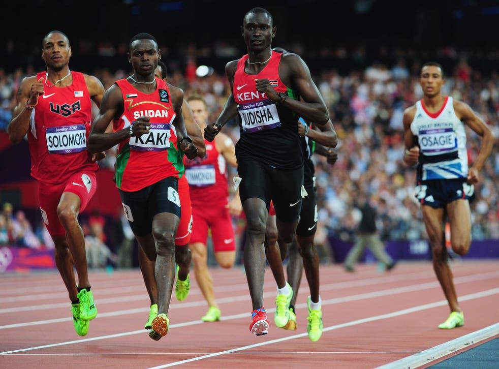 David Rudisha cruises towards 800m gold in world-record time at London 2012