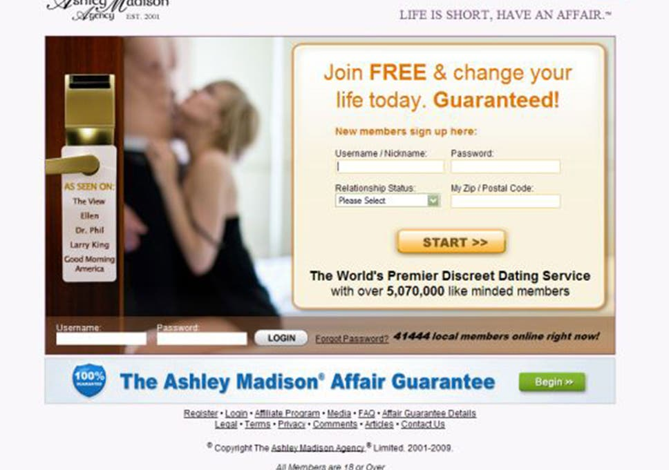 Affair dating cancel membership