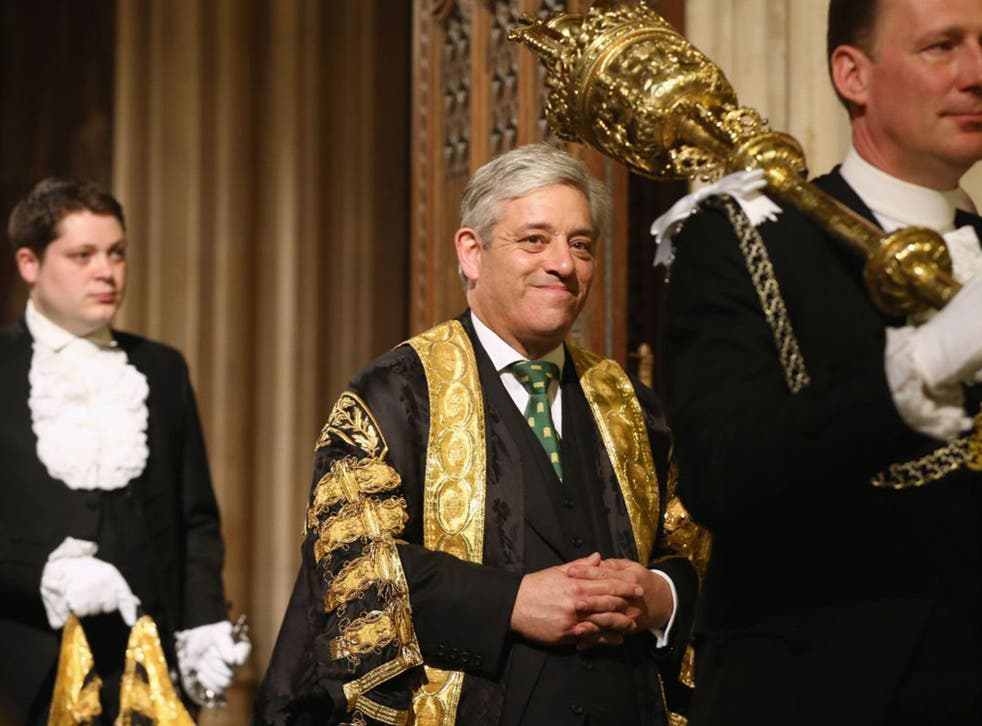 Nearly half of the public agree that Commons Speaker John Bercow was right to block Mr Trump from speaking in Parliament