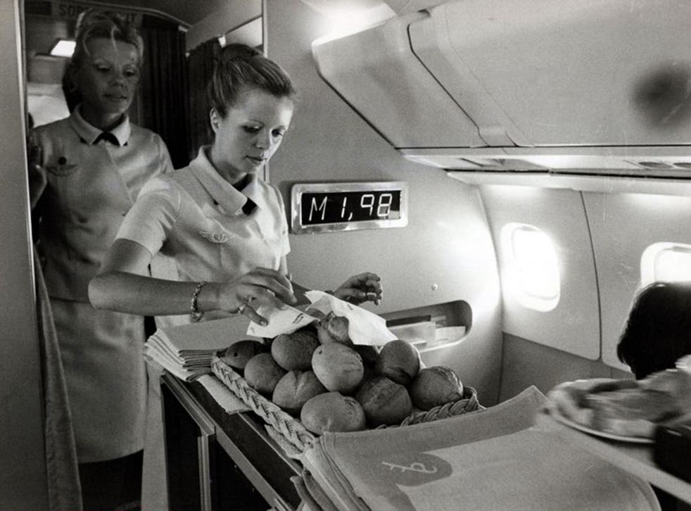 Sonic service: The galley on Concorde during its 1970s heyday