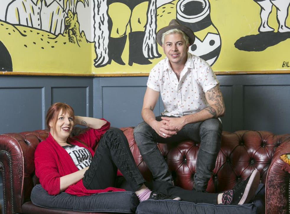 Sarah Savage and Fox Fisher, creators of 'Are You a Boy or Are You a Girl?'