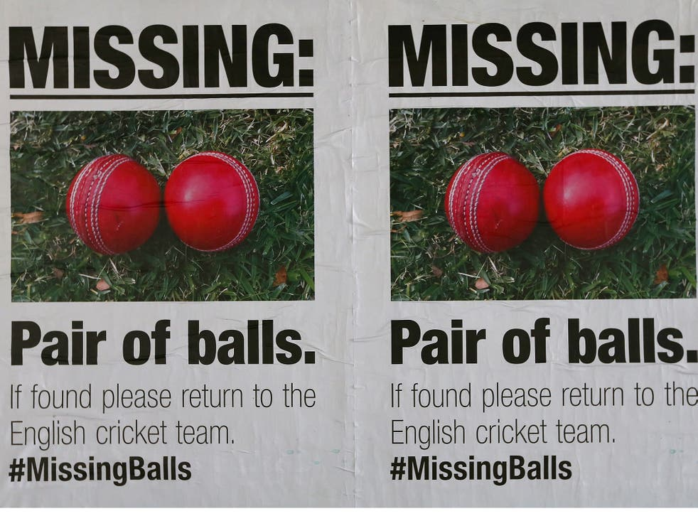 Posters mocking the English cricket team are seen around Melbourne in the lead up to the 2015 ICC Cricket World Cup