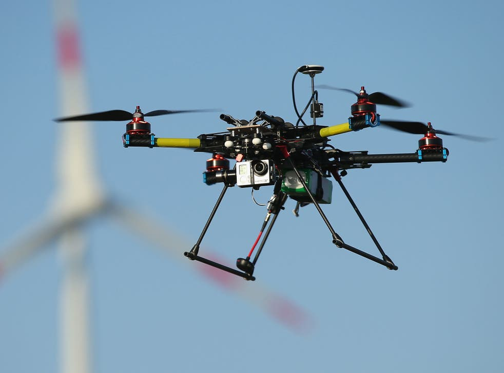 A drone for aerial photography